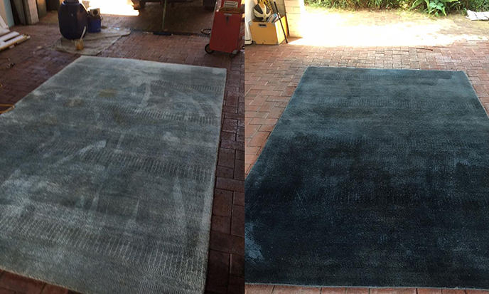 before-after-dyeing-rug